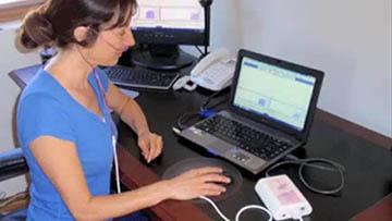 Analyse capnotrainer session